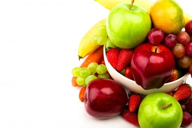sucha skóra owoce